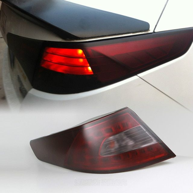 Car Styling Tint Headlight Taillight Light Smoke Film Sticker For Audi A3 A4 B6 B8 B7 B5 A6 C5 C6 Q5 A5 Q7 Tt A1 S3 S4 S5 Car Headlights Tail