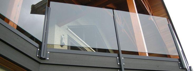Modern Glass Balcony for client in Ottawa - Centennial Glass