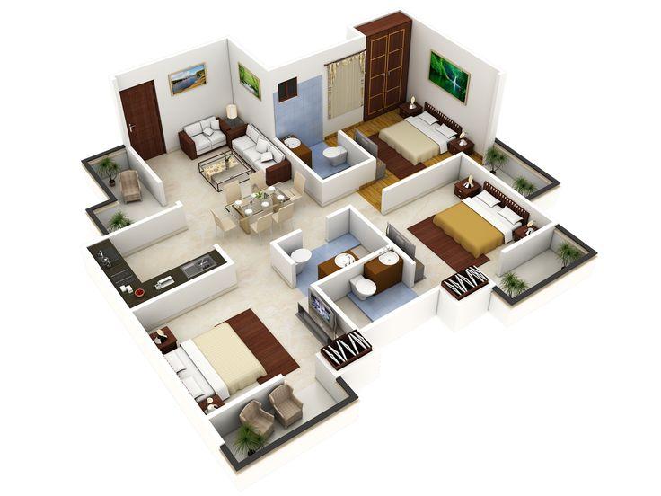 26599454026794843 on 3d House Floor Plans