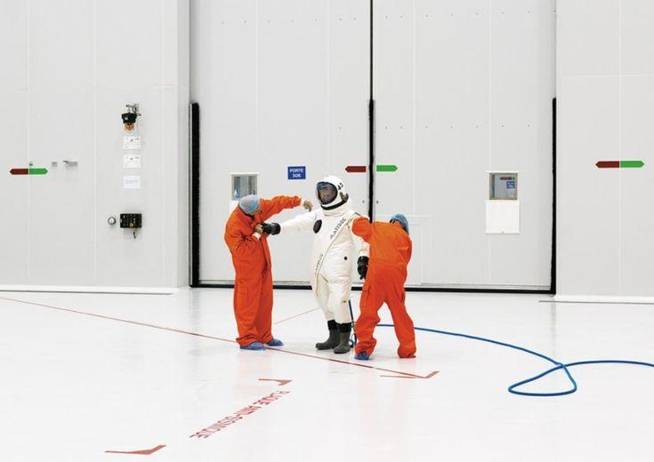 Ergol #5, S1B clean room, Arianespace, Guiana Space Center [CGS],Kourou, French Guiana, 2011.