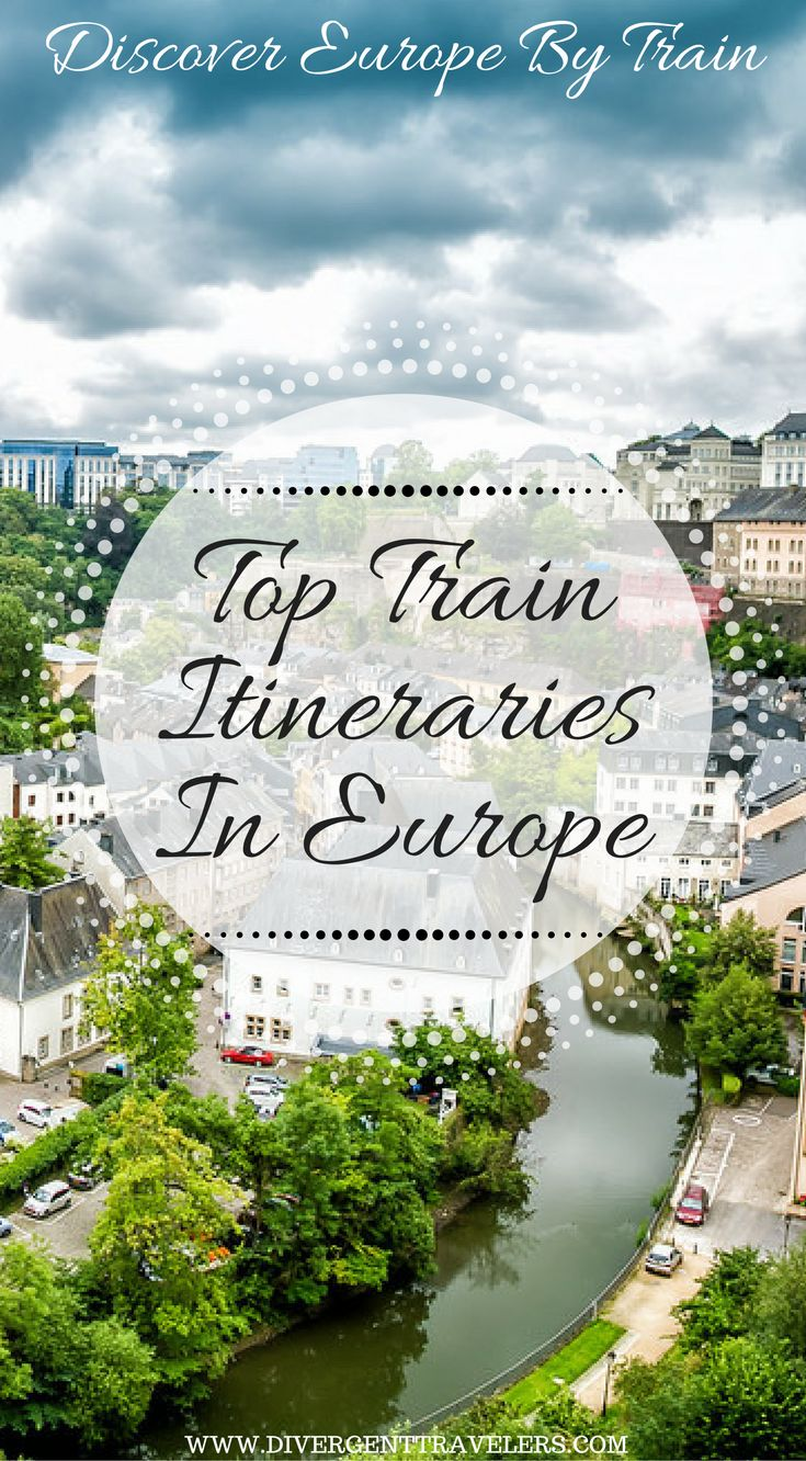 Discover Europe by Train. Top train itineraries in Europe. Eurail is your ticket to visiting some of the best and most iconic countries in Europe. You can visit as many as 28 countries in Europe while using a Eurail Global Pass. There is literally nothing stopping you from having a Eurail adventure. We have put together some of the best trips to take on Eurail. https://www.divergenttravelers.com/eurail-pass-train-travel-in-europe/