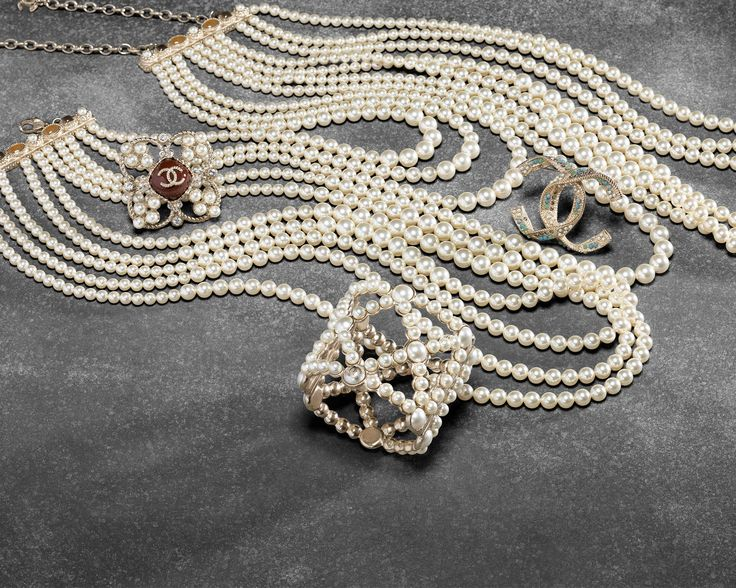 Chanel Pearls - Fall / Winter 2015
