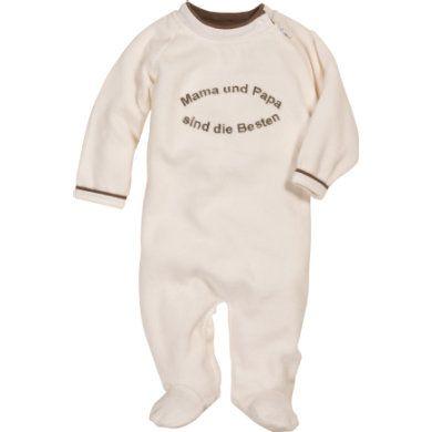 Playshoes Schlafoverall Nicki Mama Papa sind die Besten  #Babymode #Schlafanzug #Pyjama