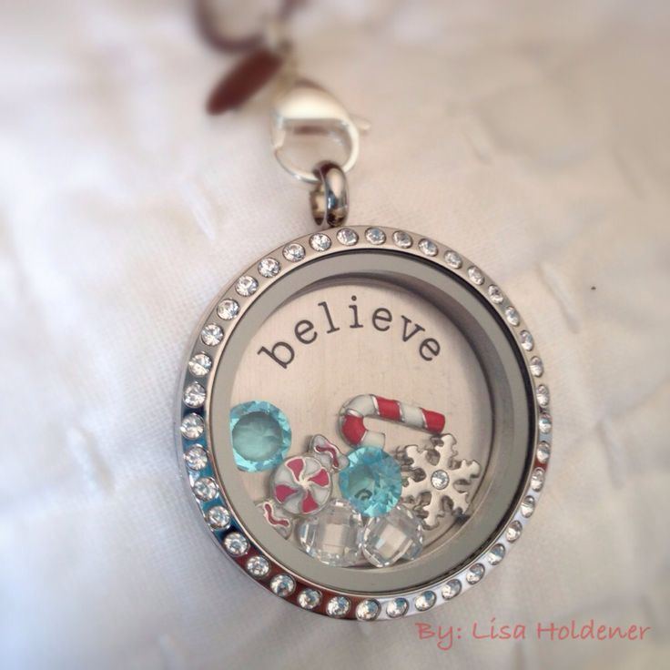 I'm a believer! Origami Owl locket for the holiday season! Contact Jennifer Fuller www.pinkiceprincess.origamiowl.com