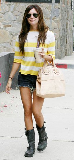 Ashley Tisdale leaving Coffee Bean in Studio City, California, America - 26 May 2009