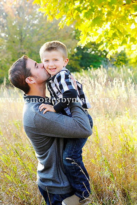 family photography - memories by marie photography - father & son