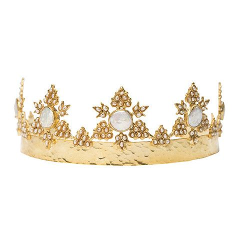 The Anika Crown Gold || Christie Nicolaides