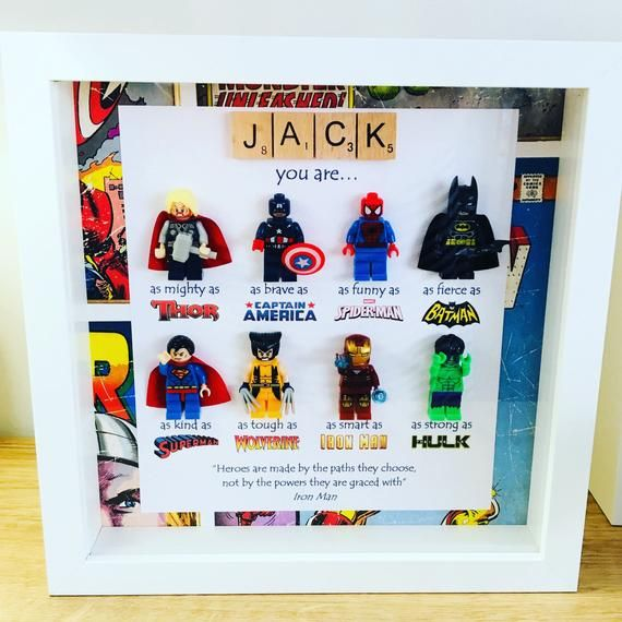 Superhero Gift For Dad Valentines Gifts For Men Etsy In 2021 Superhero Gifts Marvel Gifts Fathers Day Crafts