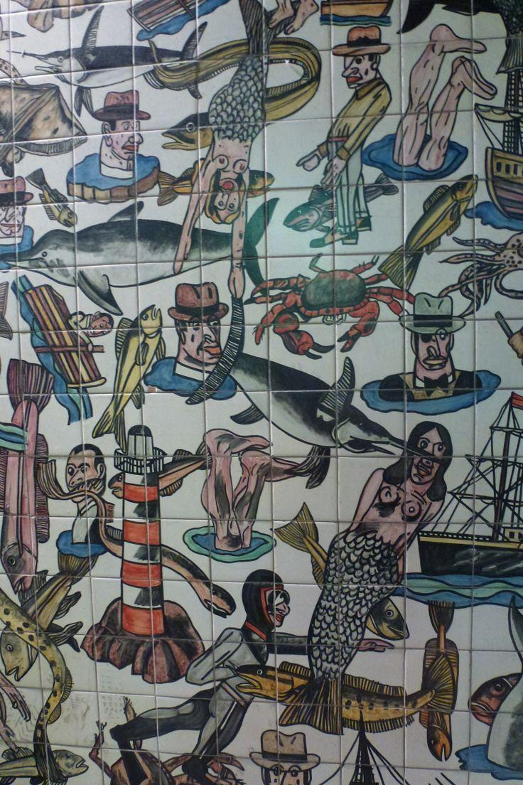 Details about hassam garden painting ceramic bathroom tile murals 2 - Metro Lisbon Oriente