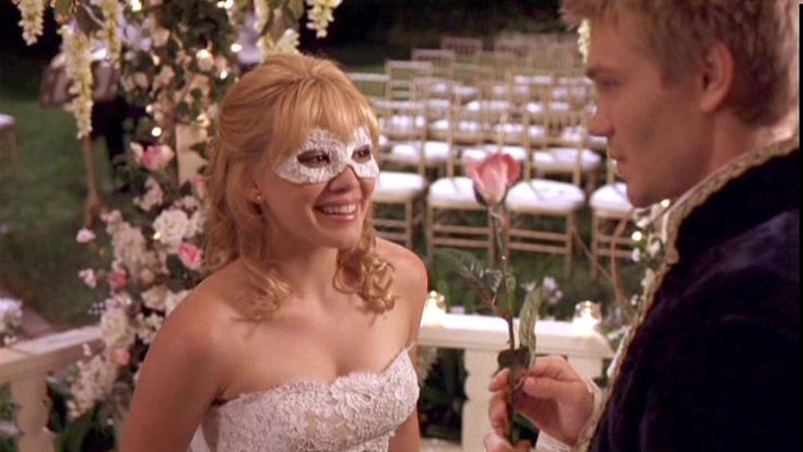 Mask from A Cinderella Story.