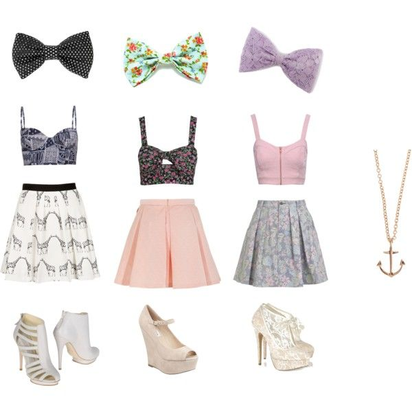 Sweet Crop Top Outfit Ideas