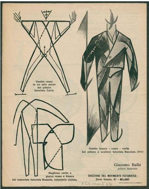 Giacomo Balla, vestito antineutrale