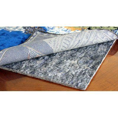 "RugPadUSA Anchor Grip 15 0.125"" Felt and Rubber Rug Pad Rug Size: Runner 2.5' x 12'"