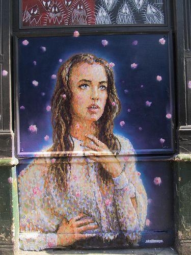 Artist: James Cochran #streetart