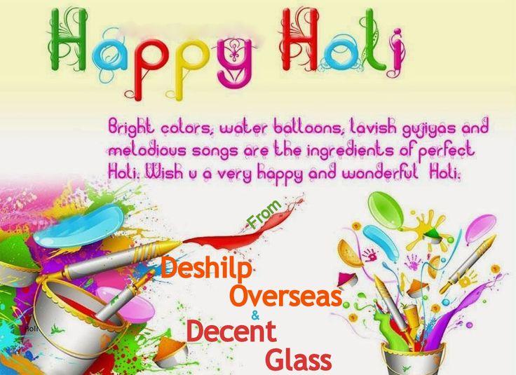 Wish you a happy holi