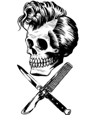 greaser skull rockabilly greaser pinterest greaser tattoo and tattoo designs. Black Bedroom Furniture Sets. Home Design Ideas