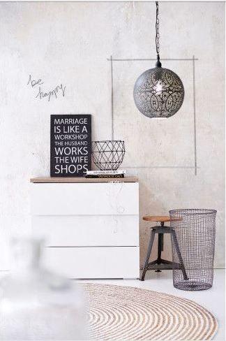 / #basket arrangements #modern living