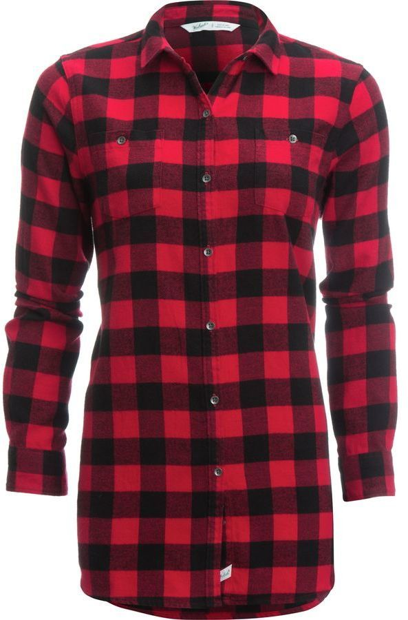 Woolrich Buffalo Check Boyfriend Shirt