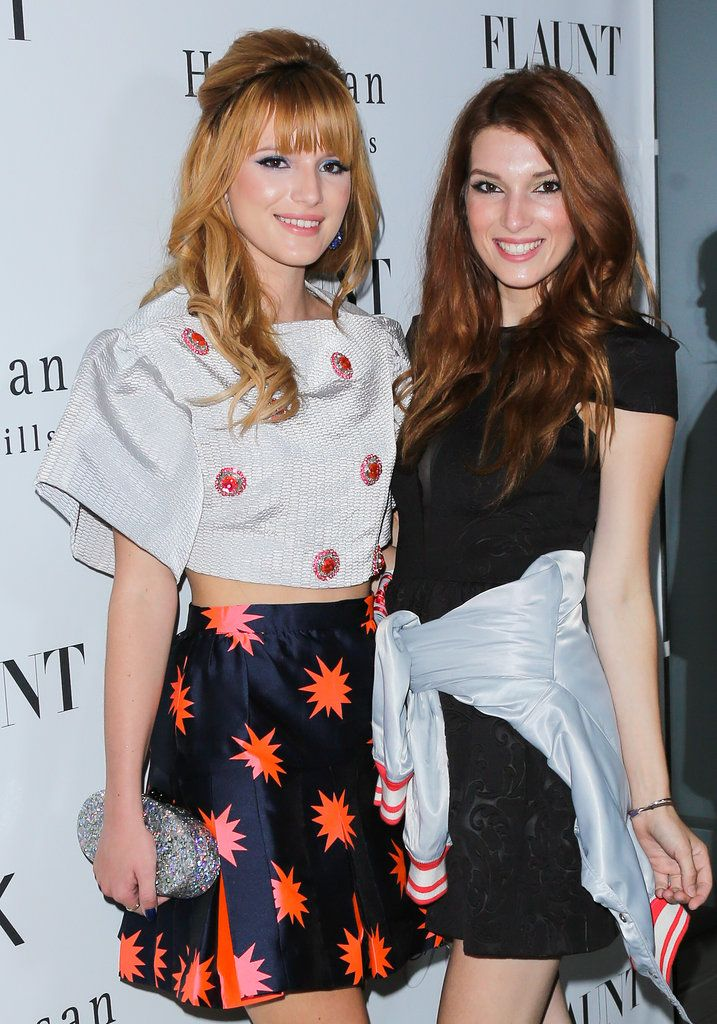 Bella Thorne And Her Sister | Bella Thorne linked up with her sister, Dani Thorne, at the party.