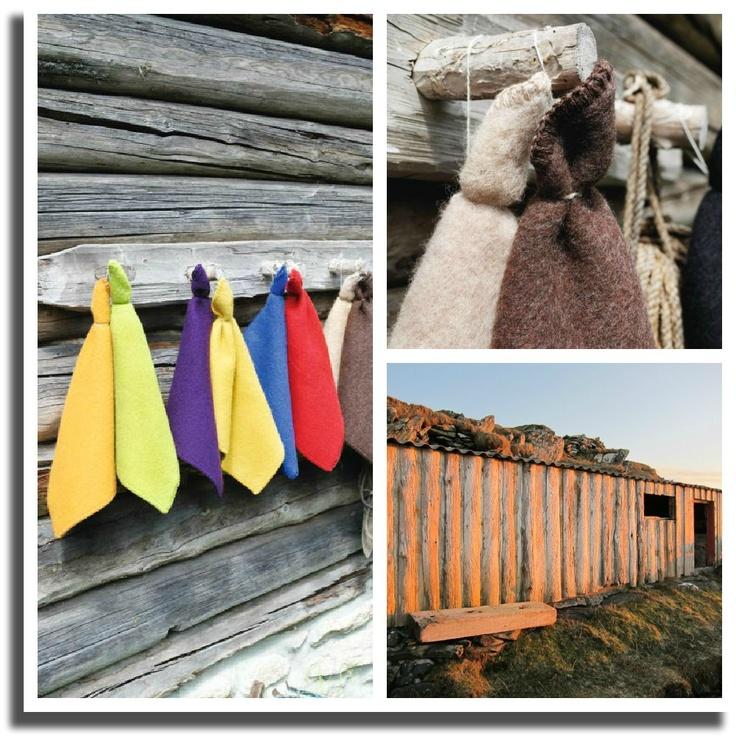HUS i NORD: Sitteunderlag fra Røros tweed, Norway