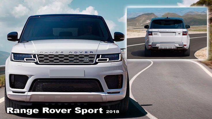 Range Rover <b>Sport 2018</b> - Интерьер и экстерьер | Новый дизайн ...