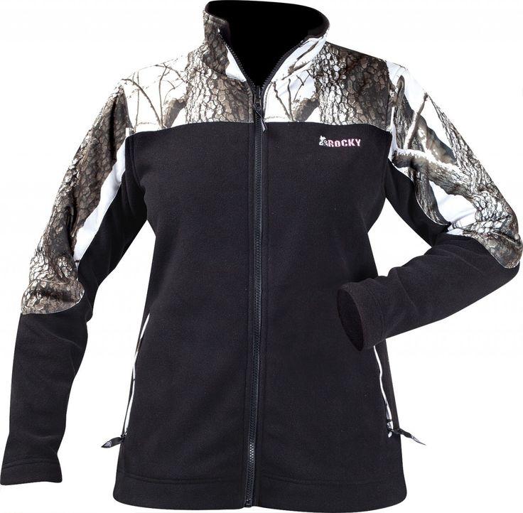 Rocky® Ladies' Fleece Jacket with Camo Accents, Realtree Hardwoods Snow -  Tractor Supply Online Store