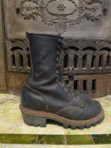 Chippewa 29435 Steel Toe Logger Boots