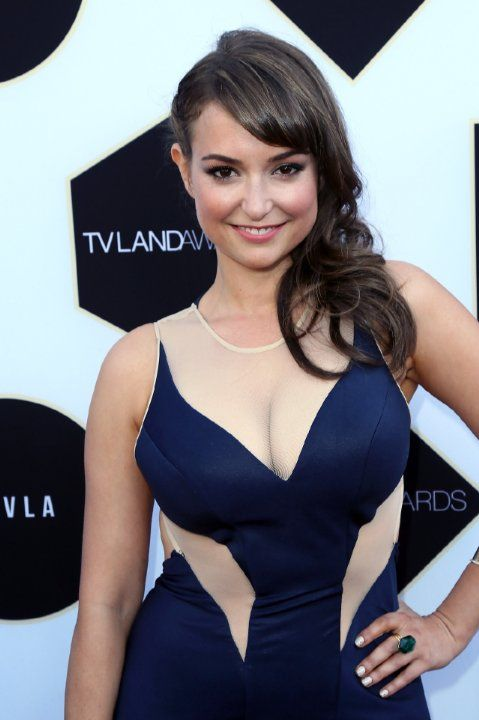 "Milana Vayntrub She plays ""Lily"" in those commercials for AT&T"