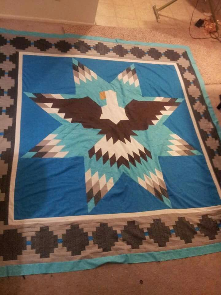 Native American Eagle quilt.