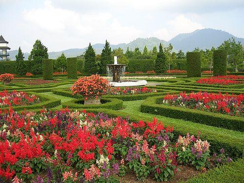 Taman Bunga Nusantara, Bogor, Indonesia. Lovely place with various flower around the world