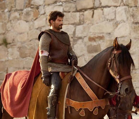 Rodolfo Sancho rueda la nueva temporada de la serie 'Isabel': 'Hacer de rey es muy divertido'