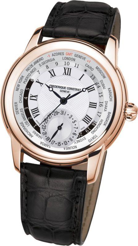 FRÉDÉRIQUE CONSTANT PRESENTA SU COLECCIÓN MANUFACTURE EN UNIÓN SUIZA - Reloj Worldtimer de Frédérique Constant.
