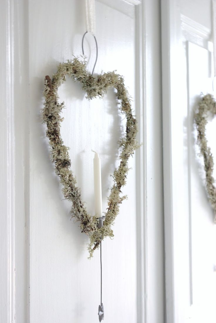 Wreath Gör av galge?
