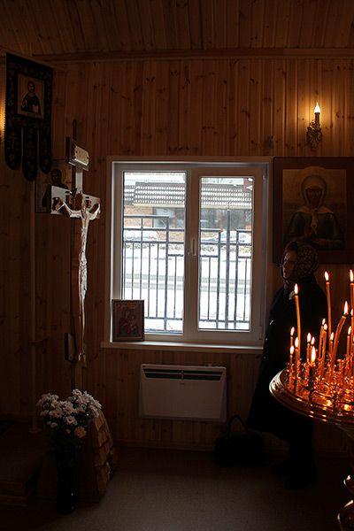 Богослужение 30 октября 2016 года — Храм в честь иконы Божией Матери «Умягчение злых сердец» в Конькове города Москвы