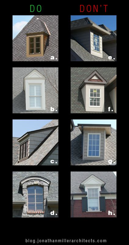 Scale Make Dormers As Trim And As Light As Possible Dormers Are Meant To Let Light In Not To