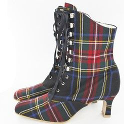 Hook tartan boots and if they aren't already fabulous enough they can be custom made in any tartan you like