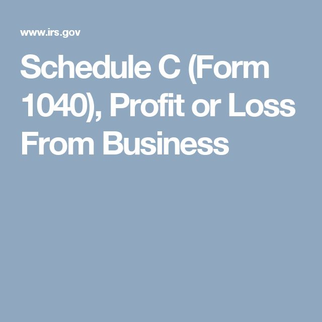 Schedule C (Form 1040), Profit or Loss From Business Photography - loss and profit form