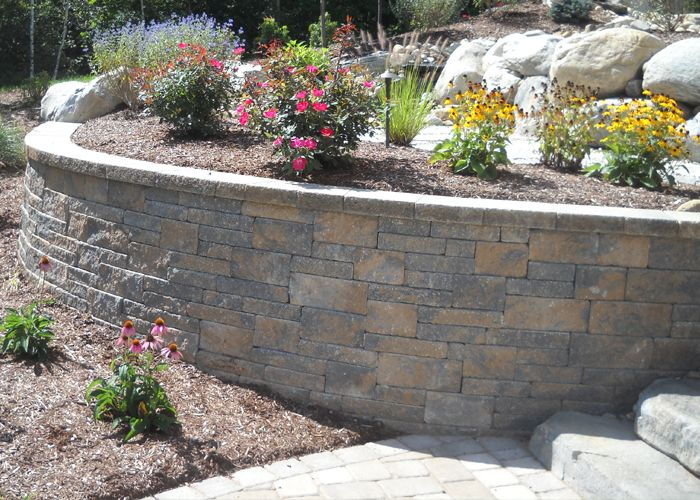 Techo Bloc S Mini Creta Wall Block Retaining Wall Cost Retaining Wall Dream Garden