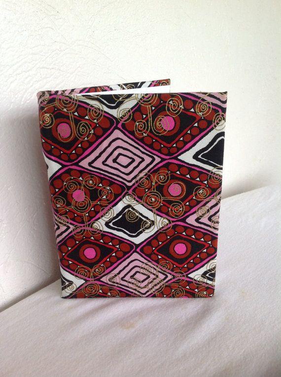 African wax Print Woodin Journal/Notebook by AfroStyleCheck, $25.00