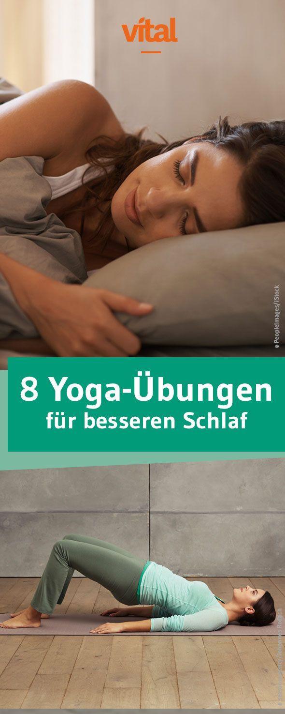 Yogatherapie: Besser schlafen mit Moonlight-Yoga