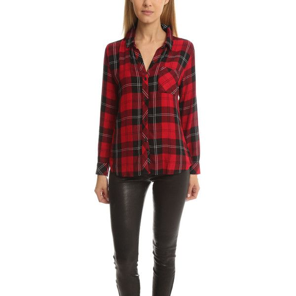 Best 25 women 39 s flannel shirts ideas on pinterest up Womens red tartan plaid shirt