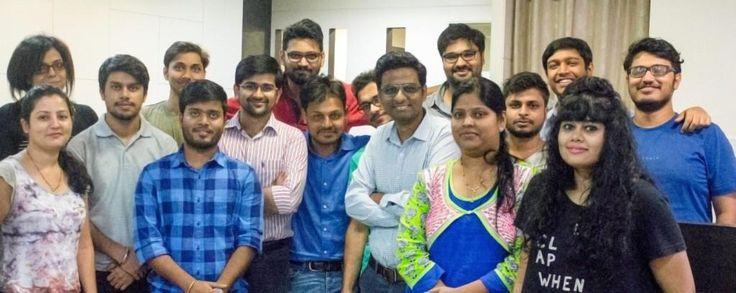 (Front row)- Meeta Kedare, Rupinder Singh, Rishabh Kesarwani, Mayank Kabra…