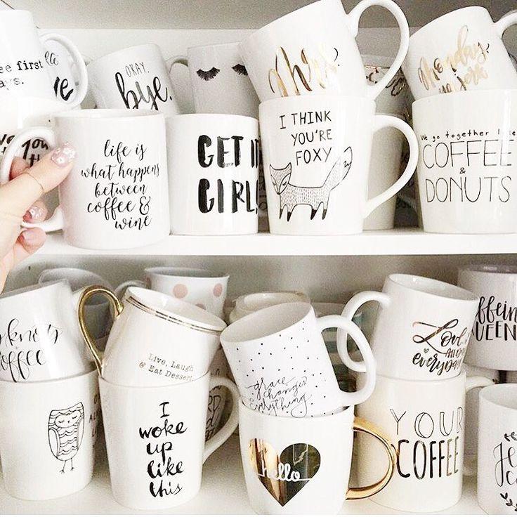 Fabulous mug collection #mugs https://bymaria.com/