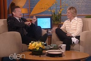 Watch Ellen DeGeneres deliver a moving tribute to Robin Williams