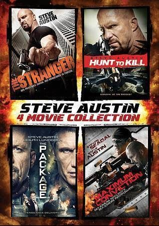 Steve Austin: 4 Movie Collection (Blu ray 2014 4-Disc Set)