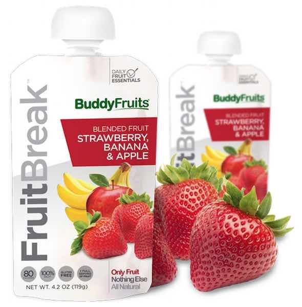 Buddy Fruits & Veggies Pouches Just $0.73/Each At Walmart With Printable Coupon!