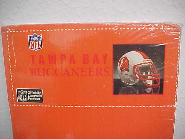 Vintage TAMPA  BAY BUCCANEERS Logo Windshield Sun Shade Orange Fold Shield New #Tradewind #TampaBayBuccaneers