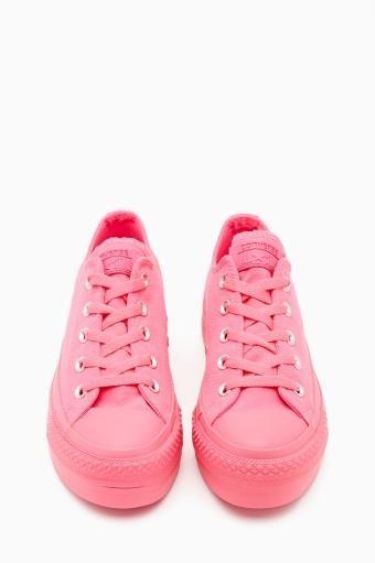 Converse All Star Platform Sneaker in Pink