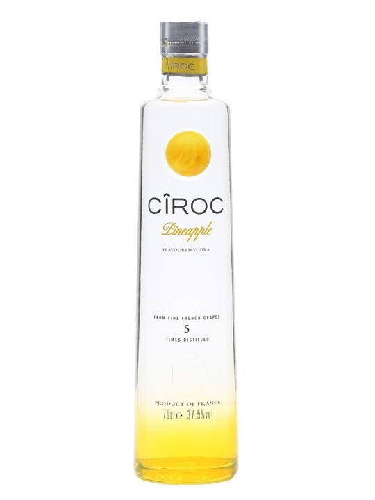 Ciroc Pineapple Vodka : Buy from World SEE@https://www.thewhiskyexchange.com/p/28329/ciroc-pineapple-vodka#