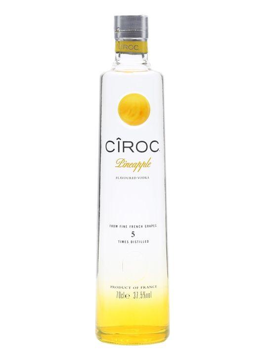Ciroc Pineapple Vodka : Buy from World SEE@https://www.thewhiskyexchange.com/p/28329/ciroc-pineapple-vodka#